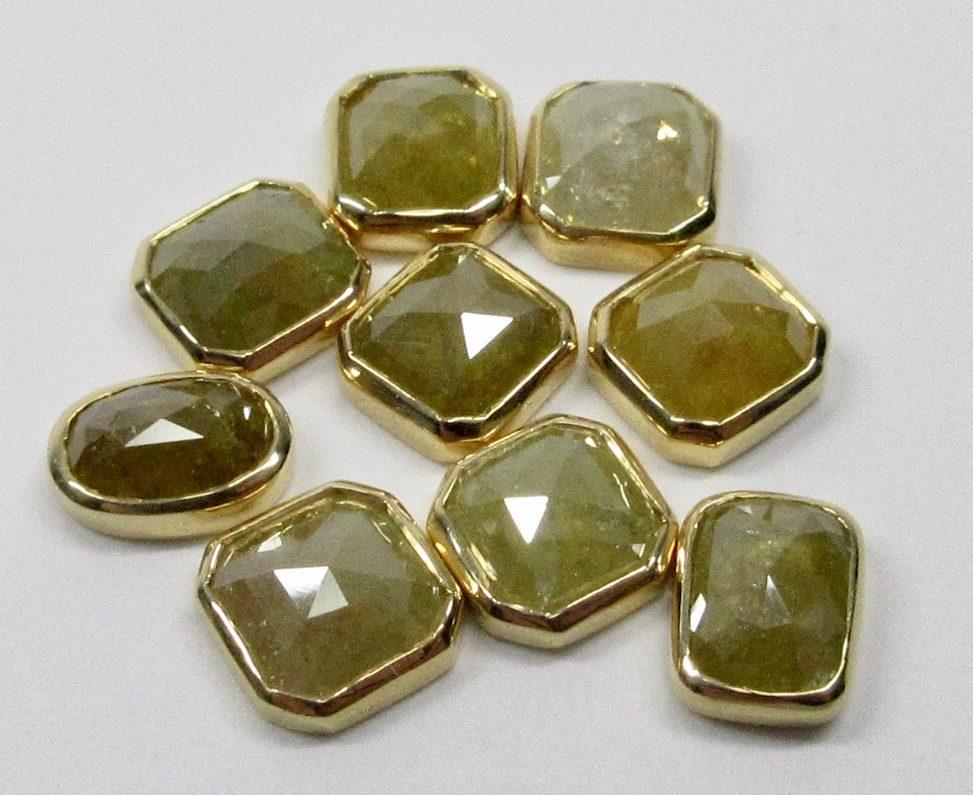 ナチュラルダイヤモンド18Kフレーム