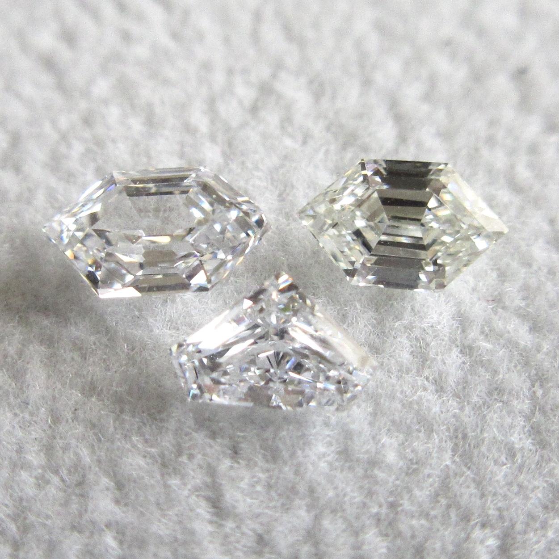 ファンシーカットのダイヤモンド