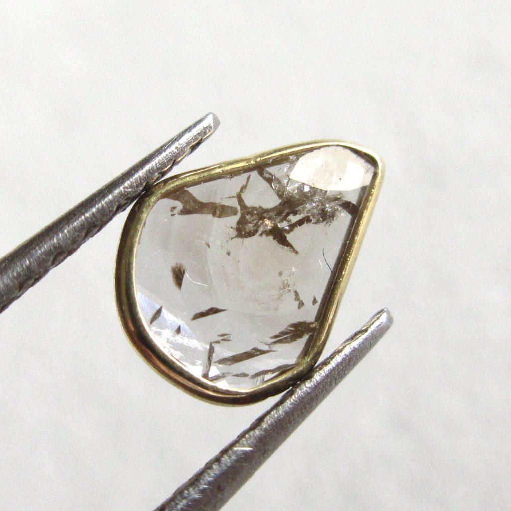 スライスダイヤモンド(18Kフレーム)